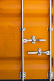Textura de un contenedor para mercancías Fotografía de archivo