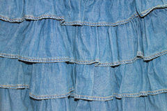 textura de un dril de algodón Imagen de archivo libre de regalías