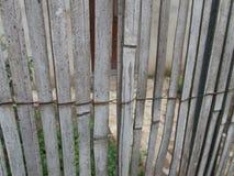 Textura de una cerca de lámina imágenes de archivo libres de regalías