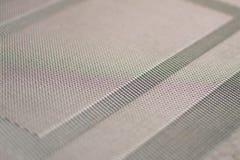 Textura de una manta tejida mate Foto de archivo