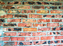 Textura de una pared de ladrillo roja Fotografía de archivo
