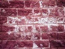 Textura de una pared de ladrillo roja Foto de archivo
