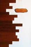 Textura de una pared de madera Imagen de archivo