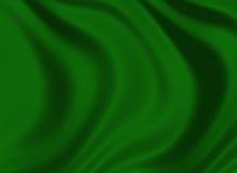 Textura de una seda verde oscuro ilustración del vector