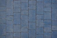 Textura de una superficie azul de la teja Fotos de archivo