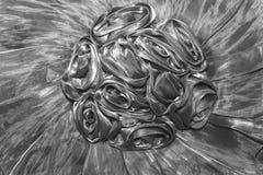 Textura de una tela con los volantes, tela plisada, textur inconsútil Fotografía de archivo libre de regalías