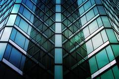 Textura de vidro Imagens de Stock Royalty Free