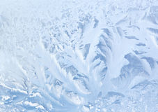 Textura de vidro congelada Imagens de Stock Royalty Free