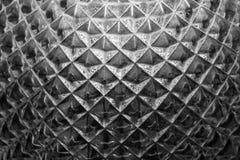 Textura de vidro decorada Imagens de Stock