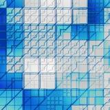 Textura de vidro futurista Foto de Stock