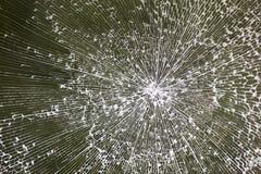 Textura de vidro quebrada Fotos de Stock