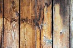 Textura de viejas tarjetas de madera fotografía de archivo libre de regalías