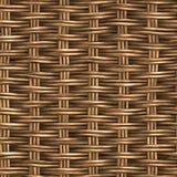 Textura de vime Foto de Stock