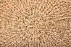 Textura de vime do círculo/círculo Imagens de Stock Royalty Free
