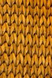 Textura de vime do teste padrão Fotografia de Stock Royalty Free