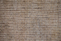 Textura de vime velha, teste padrão resistido do fundo de Brown Imagens de Stock