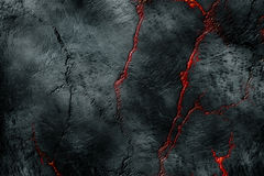 Textura de Vulcan Imagen de archivo libre de regalías