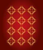 Textura decorativa abstracta del oro ilustración del vector
