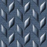 Textura decorativa abstrata - teste padrão sem emenda - calças de ganga Imagens de Stock Royalty Free