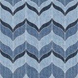 Textura decorativa abstrata - teste padrão sem emenda - calças de ganga Fotografia de Stock Royalty Free