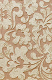 Textura decorativa do emplastro, parede decorativa, textura do estuque, estuque decorativo Fotografia de Stock