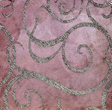 Textura decorativa do emplastro, parede decorativa, textura do estuque, estuque decorativo Imagem de Stock