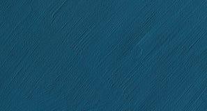 Textura decorativa moderna da parede do emplastro dos azuis marinhos fotos de stock
