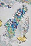 Textura del ácido ascórbico foto de archivo