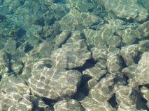 Textura del agua Foto de archivo