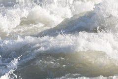 Textura del agua blanca Fotografía de archivo libre de regalías