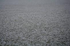 Textura del agua de lluvia Foto de archivo