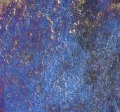 Textura del azul de Kobalt Imágenes de archivo libres de regalías