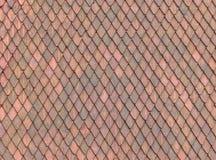 Textura del azulejo de azotea Fotos de archivo libres de regalías