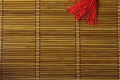 Textura del bambú Fotografía de archivo