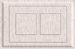 Textura del bastidor de madera Fotos de archivo libres de regalías