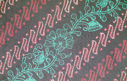 Textura del batik del color Fotografía de archivo libre de regalías