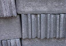 Textura del bloque de cemento Imágenes de archivo libres de regalías