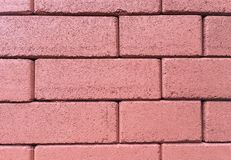 Textura del bloque del ladrillo de la pared, escalera, piso Fotografía de archivo