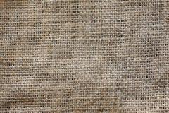 Textura del bolso del yute Fotos de archivo libres de regalías
