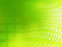 Textura del código binario stock de ilustración