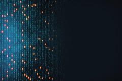 Textura del código binario imagenes de archivo