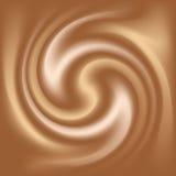 Textura del café y de la leche Imágenes de archivo libres de regalías