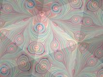 Textura del caleidoscopio del modelo del ebru Fondo de mármol colorido del mosaico Superficie hermosa de las ilustraciones Foto de archivo libre de regalías