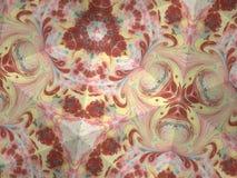 Textura del caleidoscopio del modelo del ebru Fondo de mármol colorido del mosaico Superficie hermosa de las ilustraciones Foto de archivo