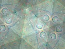 Textura del caleidoscopio del modelo del ebru Fondo de mármol colorido del mosaico Superficie hermosa de las ilustraciones Fotos de archivo