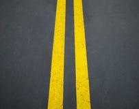 Textura del camino Fotografía de archivo