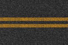Textura del camino de la carretera del asfalto con las marcas stock de ilustración