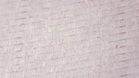 Textura del cartón almacen de video