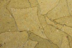 Textura del cartón piedra Fotografía de archivo