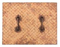 Textura del casquillo del dren del metal Imagen de archivo